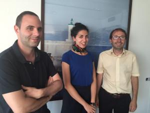 Tony Ferri, à France Culture, avec Emilie Chaudet et Stéphane Jacquot, en 2016