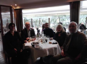 Tony Ferri, avec Jean-Paul Barriolade, Nathalie Sawmy, Thierry Lodé et Dominique Le Jacques, à Paris, en 2016 (2)