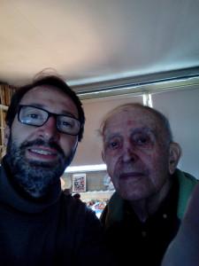 Tony Ferri, avec René Schérer, en 2016