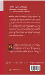 Homo catenarius de Tony Ferri (4e de couverture)