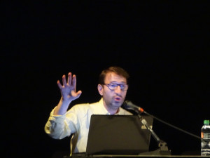 Tony Ferri, à la Cité du livre d'Aix-en-Provence, le 19.04.2018