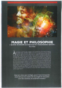 Rubrique Magie et philosophie, dans   la Revue de la prestidigitation-page-001