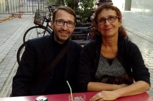 Tony Ferri et Nadia Menenger